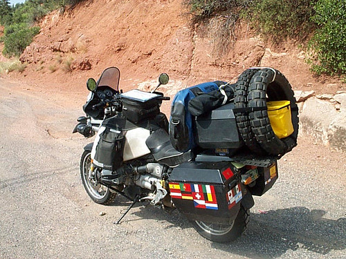 Loaded BMW 1100 GS