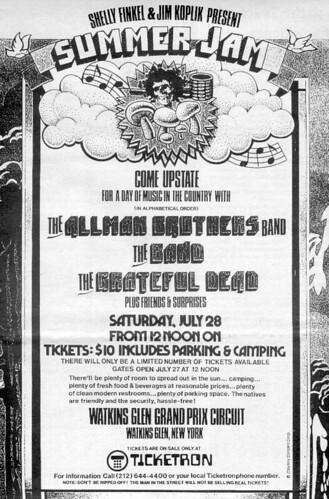Watkins Glen Poster