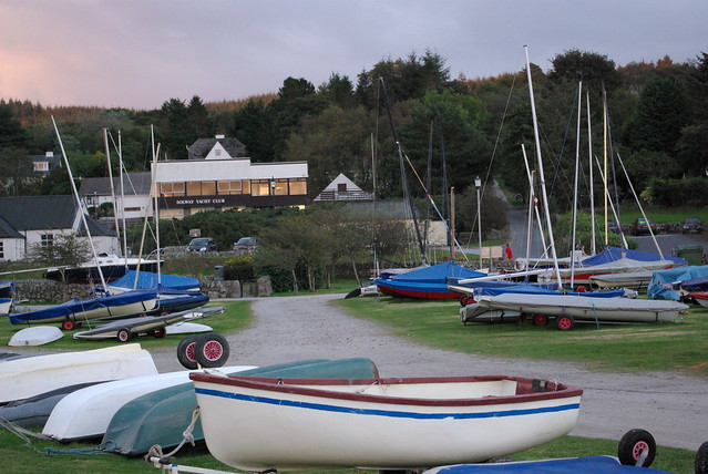 The Solway Yacht Club at Kippford