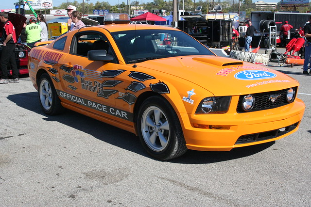 Music City Motorplex Ford Mustang Pace Car
