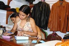 curso de bolsos y carteras de cuero