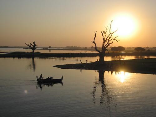 Sunset - Amarapura,  Myanmar (Burma)