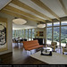 Case Study House 16 - across living room by schafphoto