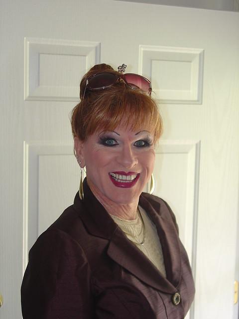Transgendered Woman Wigs Photo