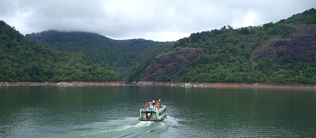 Boating at Thenmala