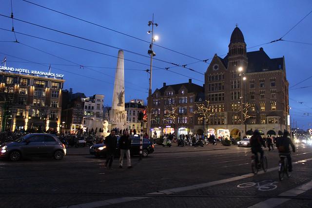 Amsterdam de nuit
