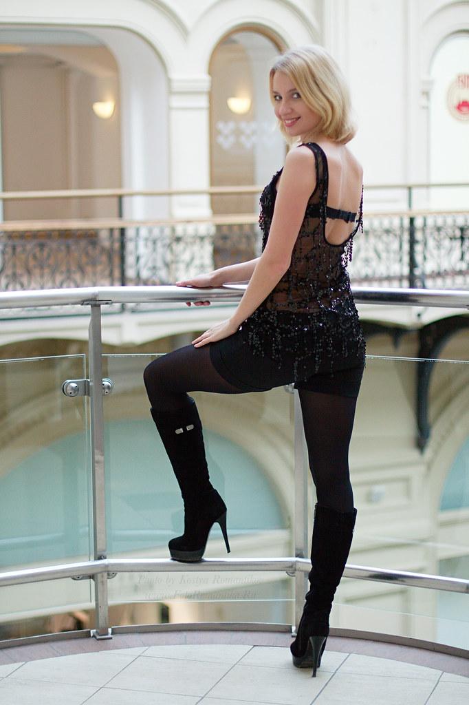 Svetlana By Kostya Romantikov, Moscow, Gum - A Photo On -3771