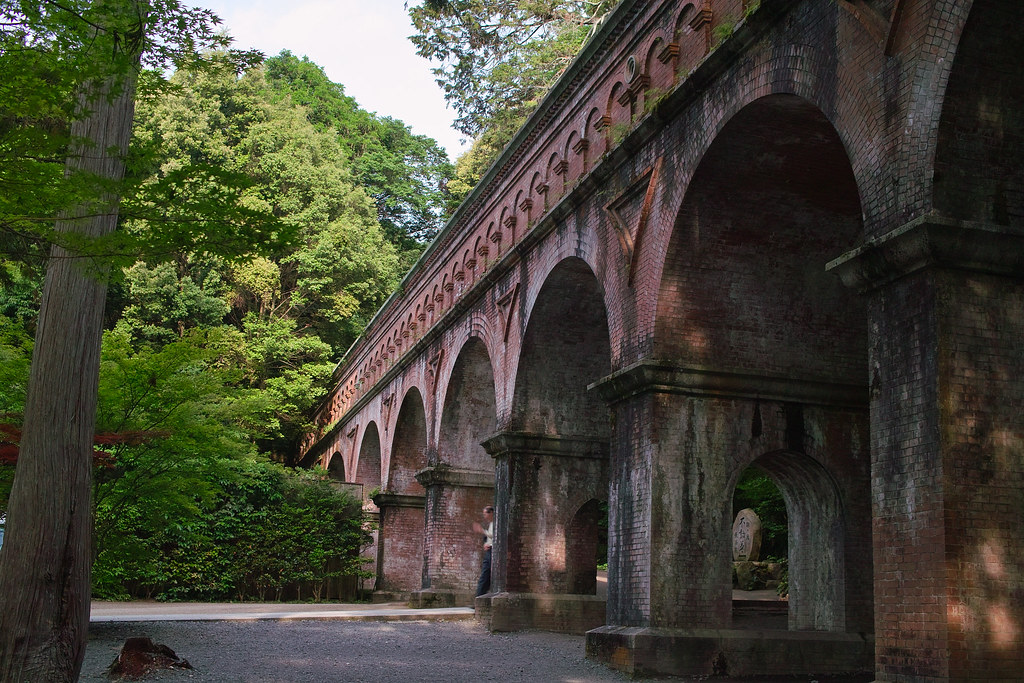 "Aqueduct Bridge ""Suirokaku"" at Nanzen-ji (Kyoto, Japan)"