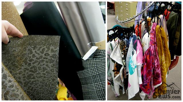 Designer Fabrics - Handbag Fabrics and Scarf Panels