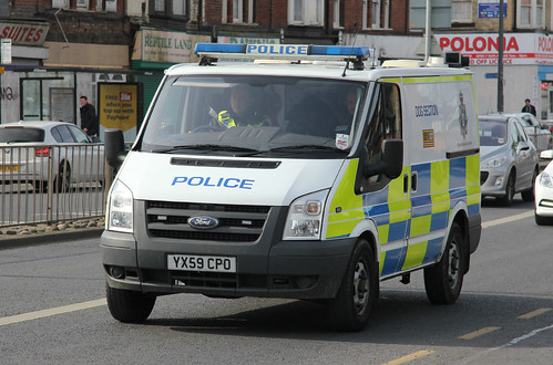 Humberside Police Ford Transit Dog Section Van