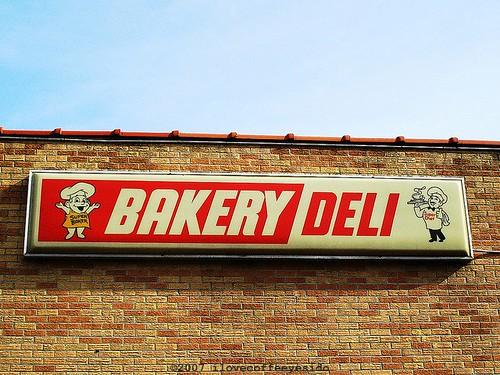 Bakery Deli Sign