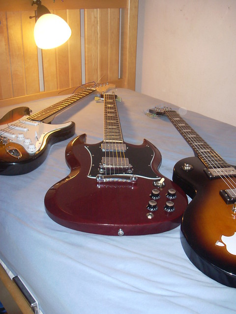 Photo:My Guitars By Charles Sporn