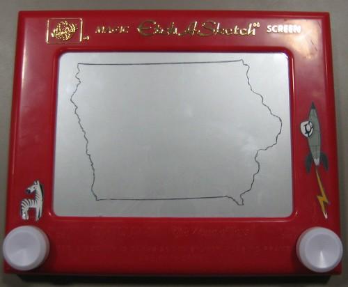 Iowa by etchasketchist