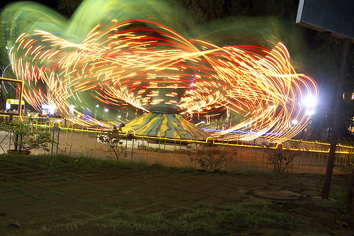 longexposure india lights indian bombay octopus amusementpark maharashtra lighttrails mumbai merrygoround extendedexposure in amusementparkride anindo anindoghosh