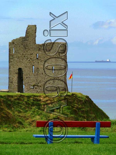 Ballybunion - The Bench, The Castle, The Ship