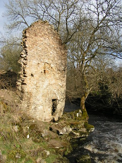 Remains of an old farmhouse.