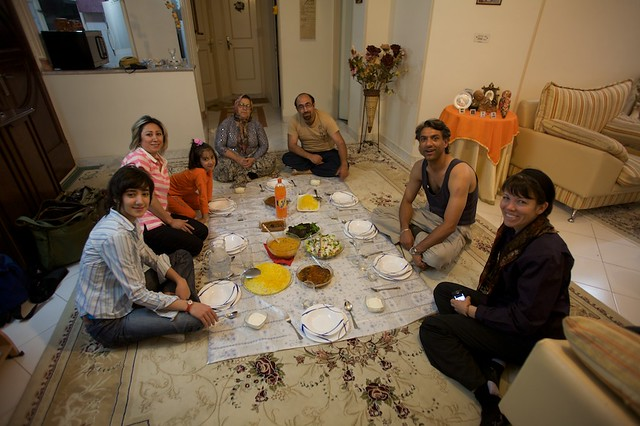Dinner at Amir's Home
