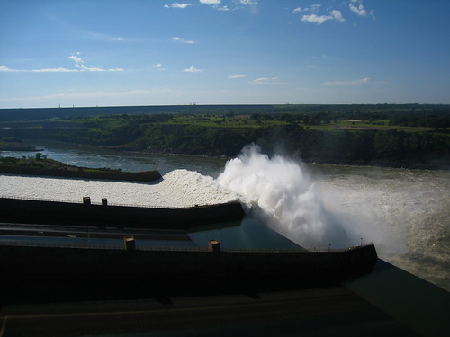 The Itaipu Dam – the largest dam in the world until 2010