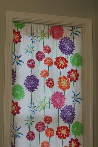 simple lined curtains make it modern. Black Bedroom Furniture Sets. Home Design Ideas