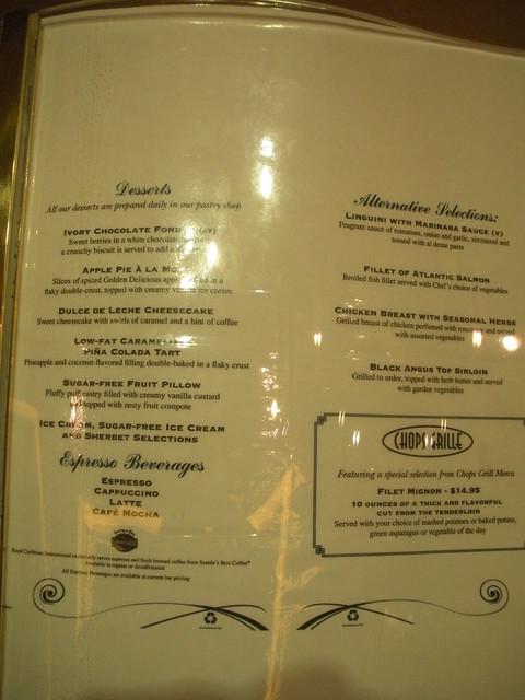 menu Formal dining room Freedom Of The Seas Flickr  : 3542236403e79300eedfz from www.flickr.com size 375 x 500 jpeg 103kB