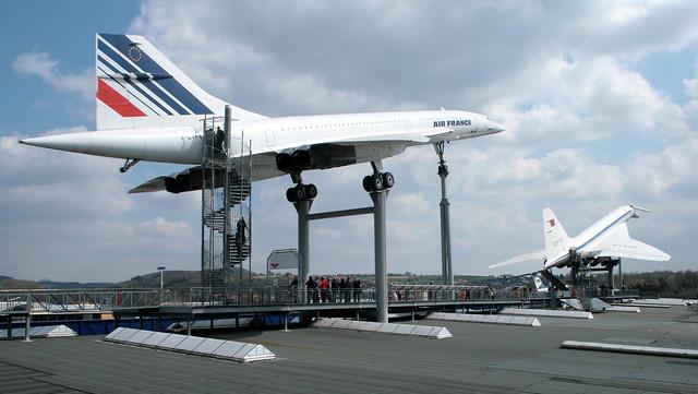 Concorde F-BVFB und Tupolew Tu-144