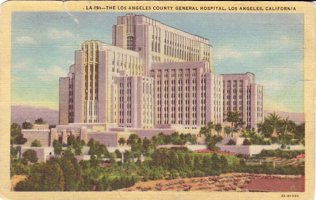 the los angeles county general hospital los angeles california