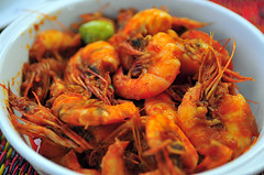 shrimp, seafood boil, dendrobranchiata, caridean shrimp, fried prawn, thai food, seafood, invertebrate, food, scampi, dish, southeast asian food, cuisine,