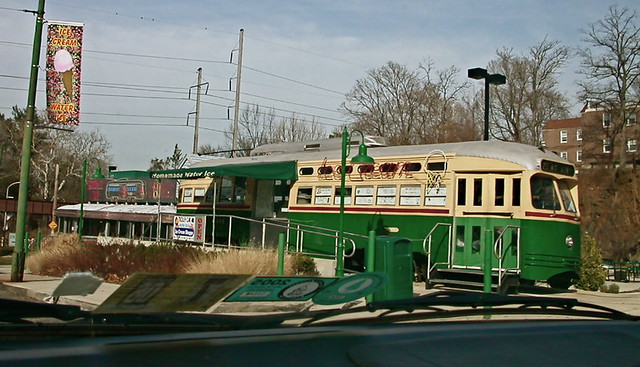 Trolley Car Diner Ice Cream Shop, Germantown Avenue