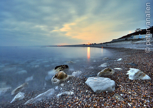 Chesil Cove - Night time long exp