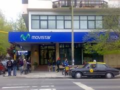 Oficina de Telefónica en Buenos Aites