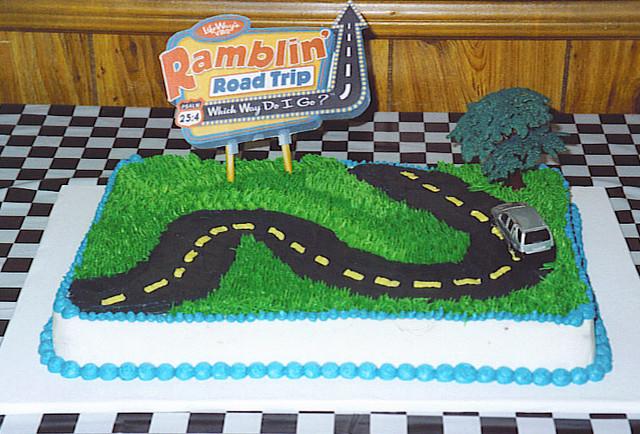 Cake Decorating Gardeners Road : Ramblin Road Trip Cake Flickr - Photo Sharing!