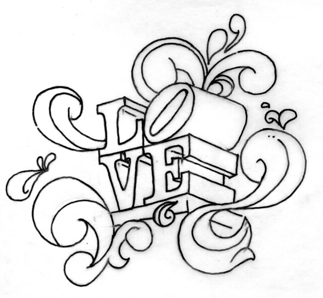 Line Drawing Love : Love statue a gallery on flickr