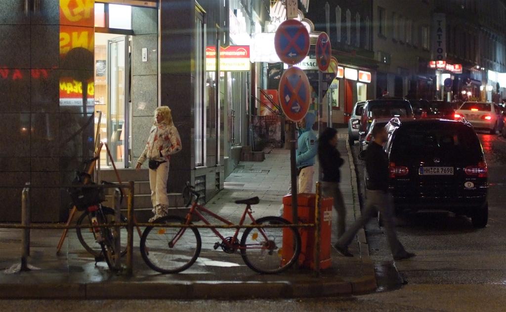 Hamburg Nachts St.Pauli Kiez Strassenstrich - a photo on