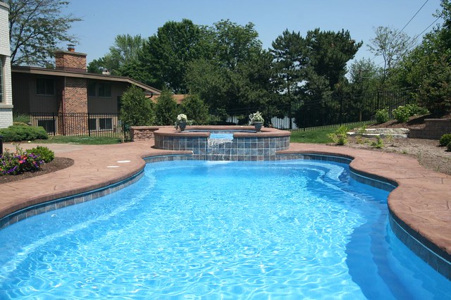 Composite pools lexington pool alexandria spa in ground fiberglass pools hinsdale Swimming pools in alexandria va