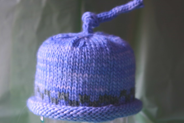 Knitting Pattern Umbilical Cord Hat : Umbilical cord baby hat Knit from malabrigo. By: unertlkm Flickr - Phot...