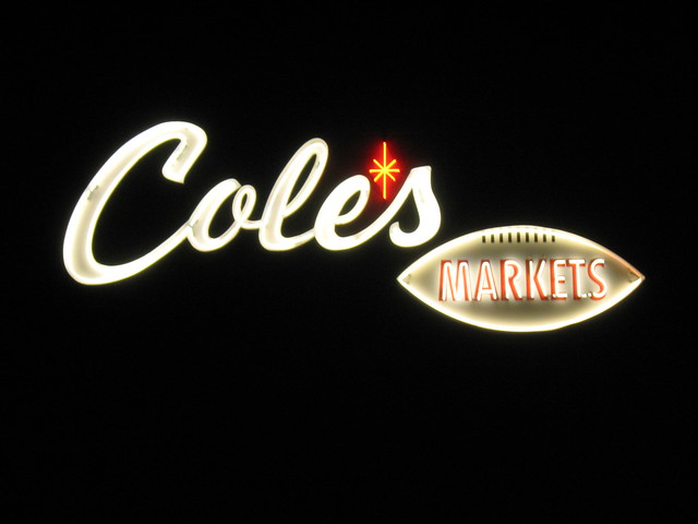 Cole's Market -  4277 First Street, Pleasanton, California U.S.A. - March 19, 2008