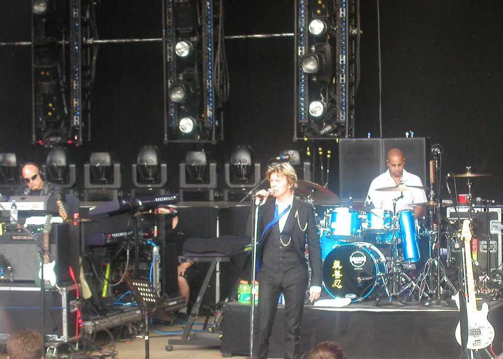 David Bowie & Band @ Area2 Festival