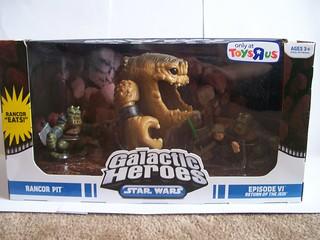 Galactic Heroes Rancor Pit Set