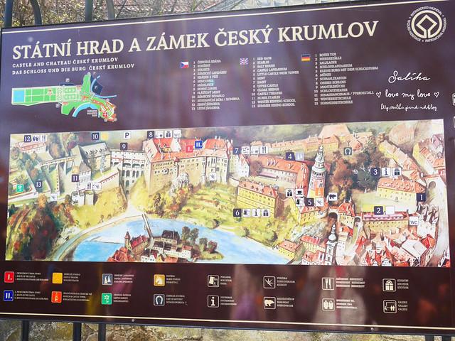 歐洲蜜月捷克克魯姆洛夫cesky krumlov彩繪塔 (2)