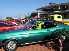automobile, automotive exterior, vehicle, automotive design, antique car, chevrolet chevelle, land vehicle, muscle car, sports car,
