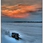 Bay of Quinte - Rossmore - Ontario Sunset HDR