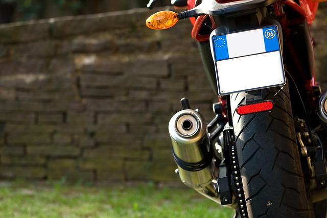 Ducati Monster Exhausts Kick Plates