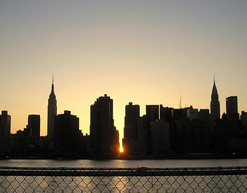 Manhattanhenge 2008
