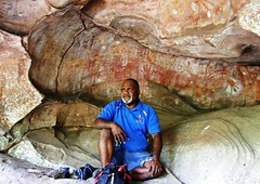Willie in the Rainbow Serpent Cave