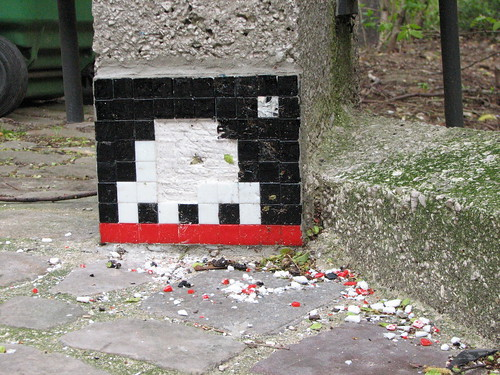 Space Invader PA_834 : Paris 20eme