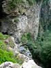 Premiers rappels du canyon de San Giuvanni au Cap Corse