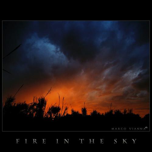 barcelona sunset sky españa canon cielo puestadesol fireinthesky ripollet canonefs1855mmf3556 canoneos400ddigital villaderipollet m®©ãǿ►ðȅtǭǹȁðǿr◄© marcovianna