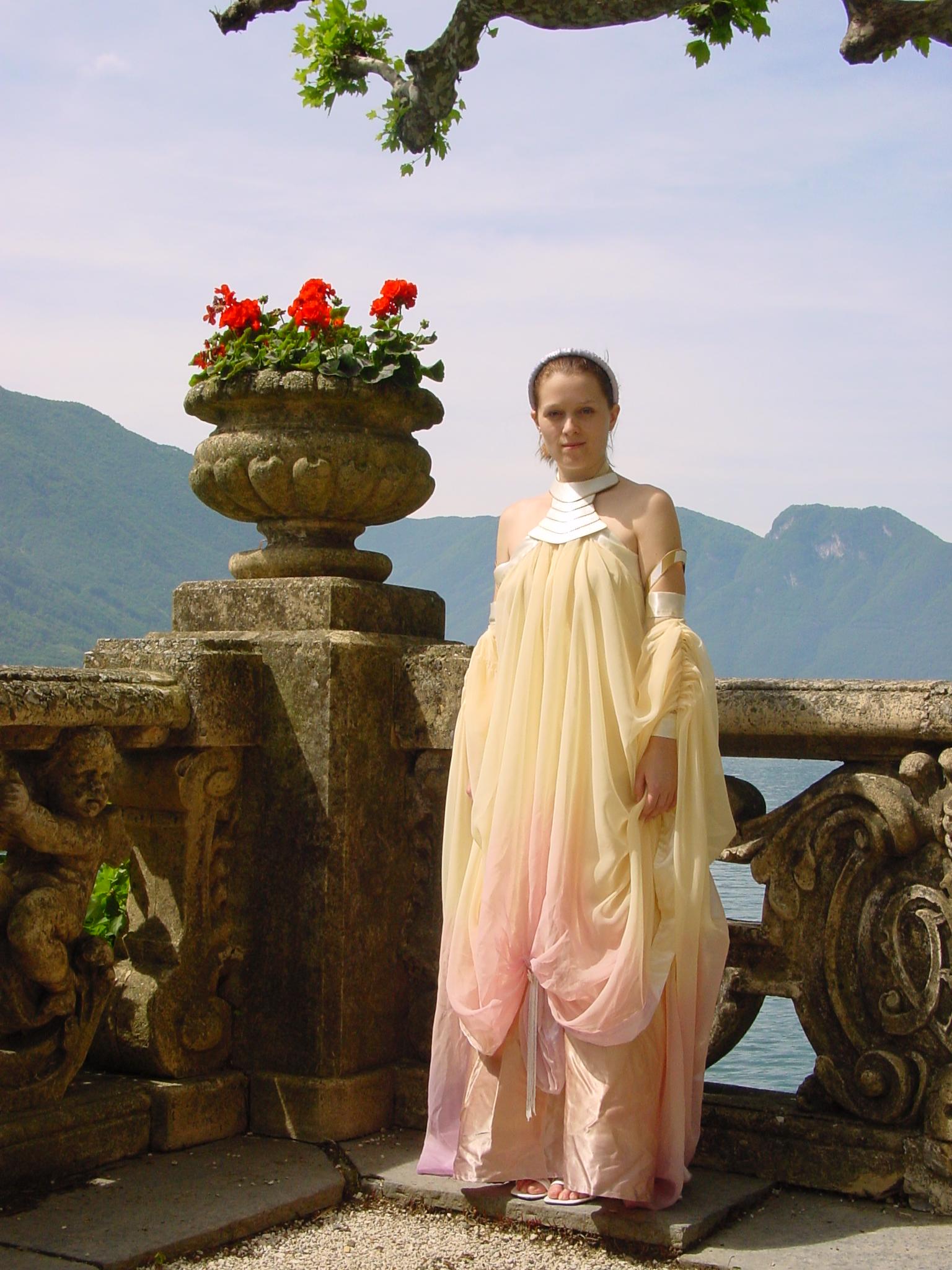 Fluidr / Padme\' Amidala costume - Lake Retreat Arrival gown by Matt ...