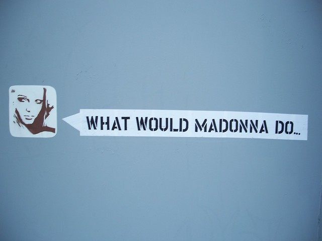 "britney spears says ""what would madonna do..."""