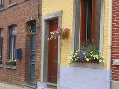 window, wall, property, house, residential area, door, facade, home, brick, brickwork, neighbourhood,